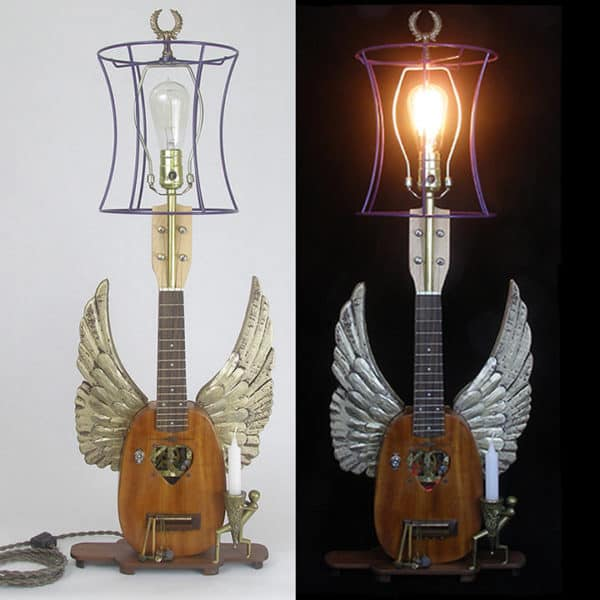 The Lightmusic Lamps have wings.