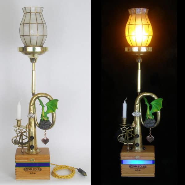 Elegance and whimsy are combined in these Lightmusic Lamps.
