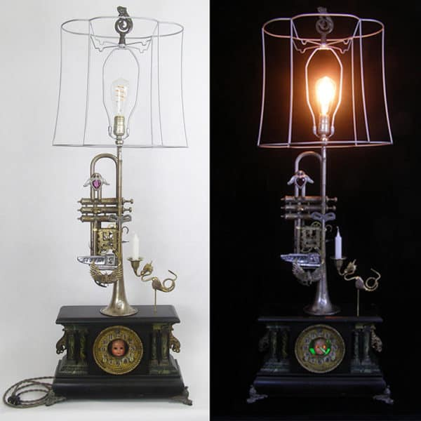 Upcycled Instruments Become Lightmusic Lamps