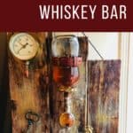Upcycled Steampunk Portable Whiskey Bar