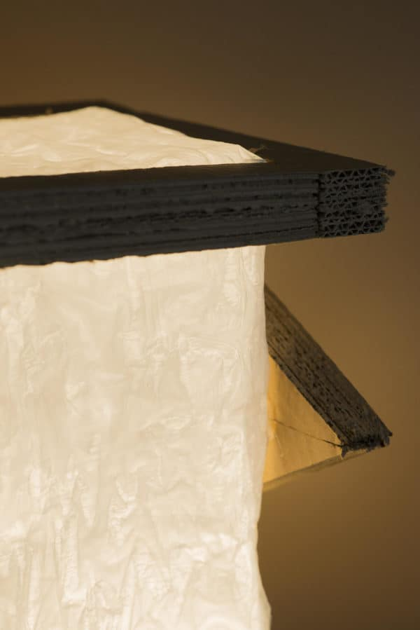 This Cardboard Lamp project can be done by anyone!