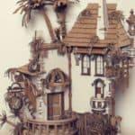 "Cardboard ""Abandoned House"""