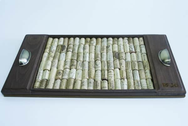Cotray: Upcycled Corks Base Tray Recycled Cork