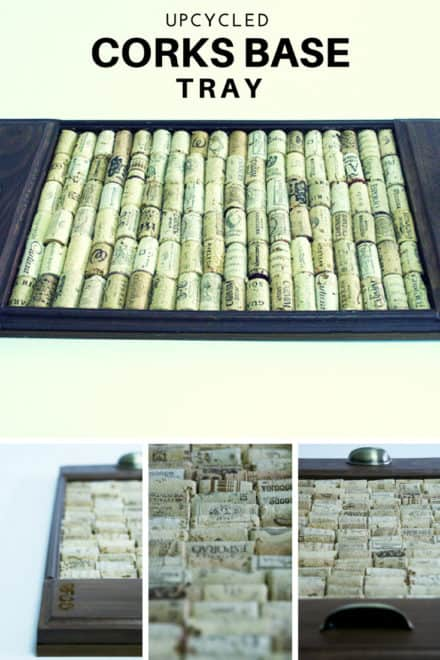 Cotray: Upcycled Corks Base Tray