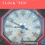 "Dp Fire Department Clock ""Ted"""