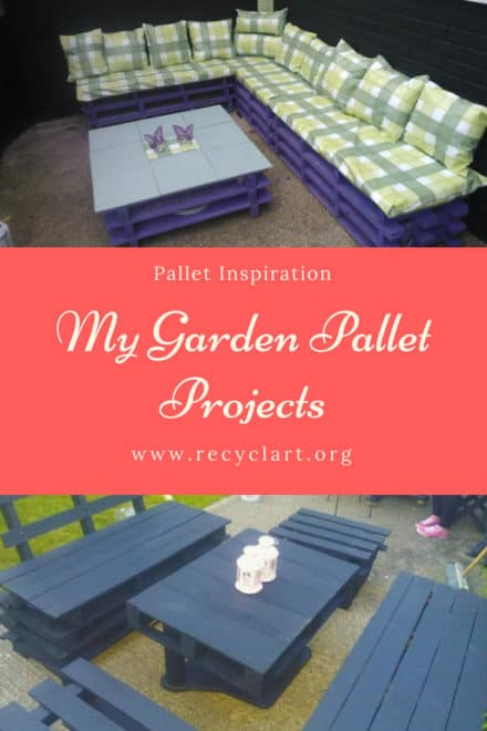 My Garden Pallet Projects