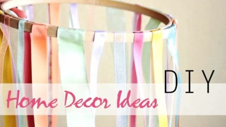 Diy: Upcycled Home Decor Ideas