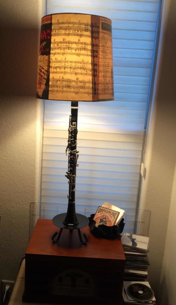 Old Band Instrument Lives On As A Shining Star Lamps & Lights