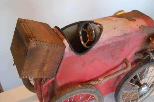 The Jalopy: Vintage Car Art Sculpture