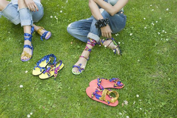 Upcycled Car Tires Into Sandals Accessories