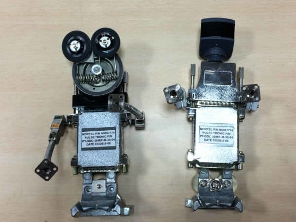 E-waste Abstract Sculptures