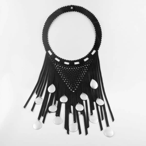 Recycled Inner Tubes & Cans Jewelry by Ckoasa