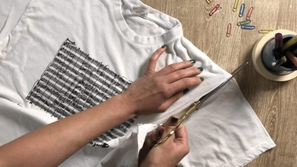 Upcycle & Refashion an Old Boring T-shirt Clothing