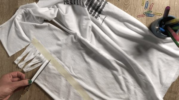 Upcycle & Refashion an Old Boring T-shirt