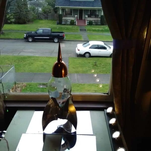 The Wine Bottle Solar Powered Chianti Star Cruiser