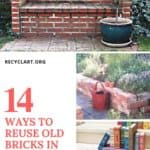 14 Ways To Reuse Old Bricks In Your Garden