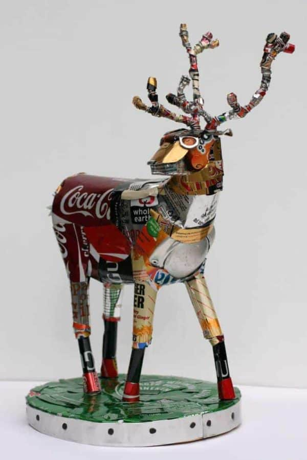 The Art of Recycling: Transform Trash Into Pieces of Art Recycled Art