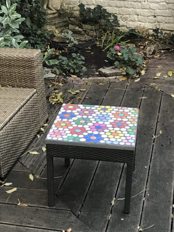 New Life for My Garden Coffee Table Recycled Plastic