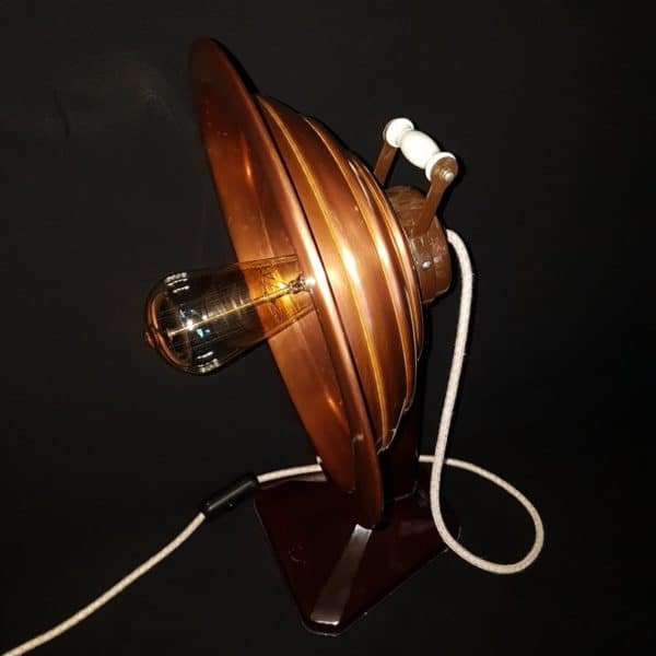 How to Transform an Old Electric Heater into an Industrial/Steampunk Table Lamp? Lamps & Lights