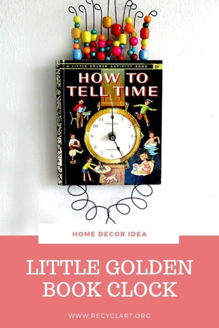 Little Golden Book Clock