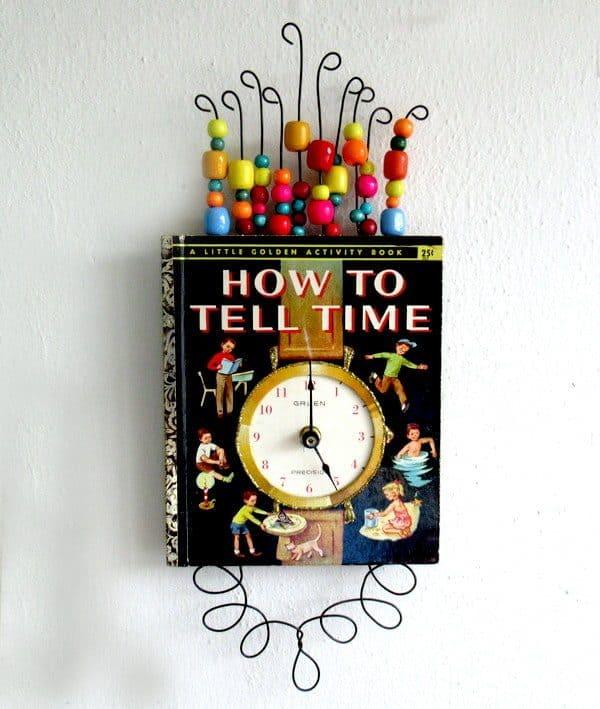 Little Golden Book Clock