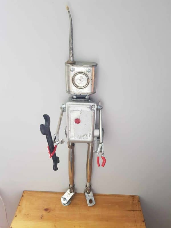 Old Bill: Robot Sculpture Recycled Art