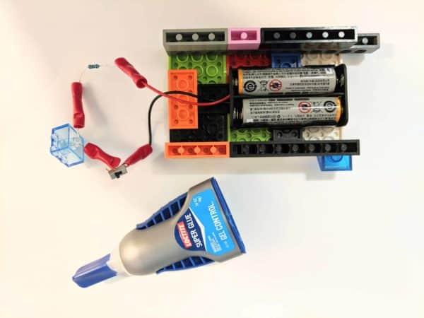 Lego Uv Led Flashlight