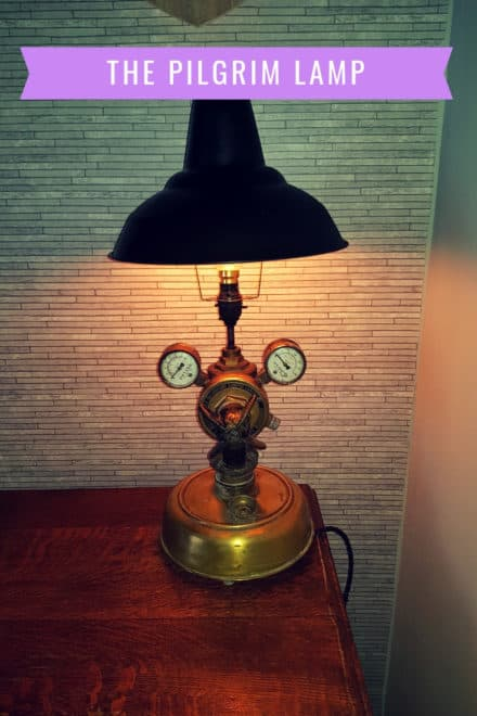 "The ""Pilgrim"" Lamp"