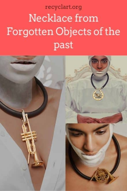 Necklace from Forgotten Objects of the past