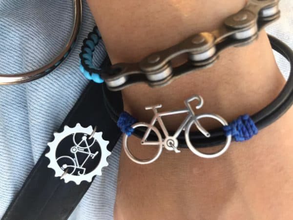 Keepe – Recycled Bicycle Parts into Jewelry Upcycled Bicycle Parts