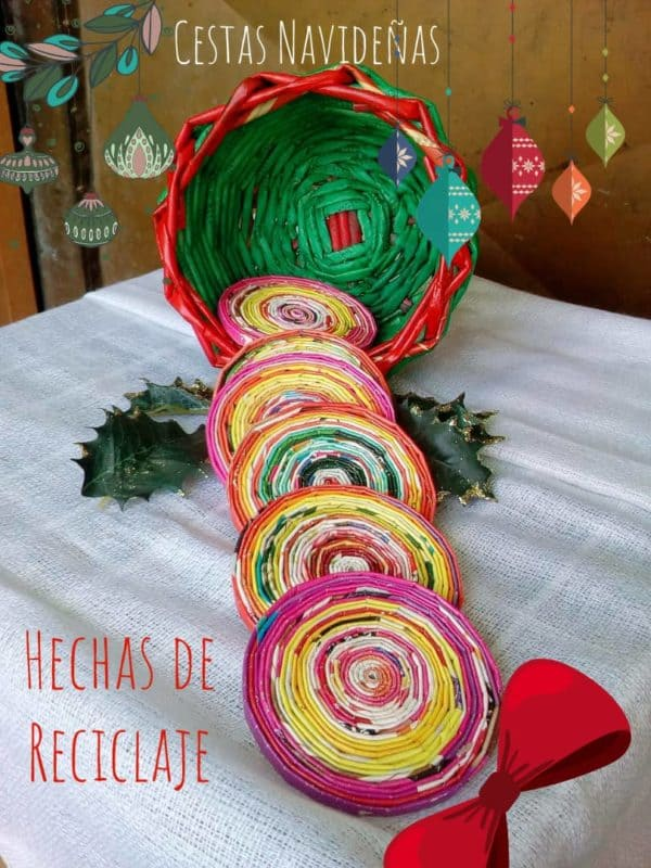 Christmas Decorations From Magazine Paper Home & décor Recycling Paper & Books