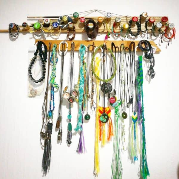 Upcycled Jewelry Hanger Accessories