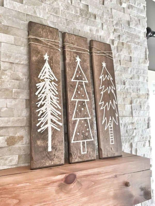 Easy Christmas Wall Art Ideas Using Natural Materials Do-It-Yourself Ideas Home & décor