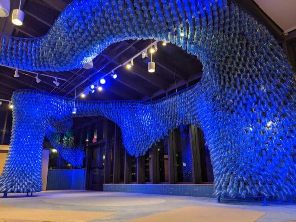 Mississippi Gyre: a Sculpture Made from 5,000 Recycled Plastic Bottles Recycled Art Recycled Plastic