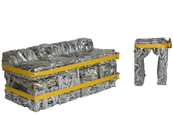 Pressed Aluminum Furniture Recycled Furniture Recycling Metal