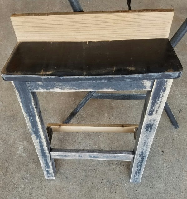 Repurposed Wood Chair Turned Shelf Recycled Furniture