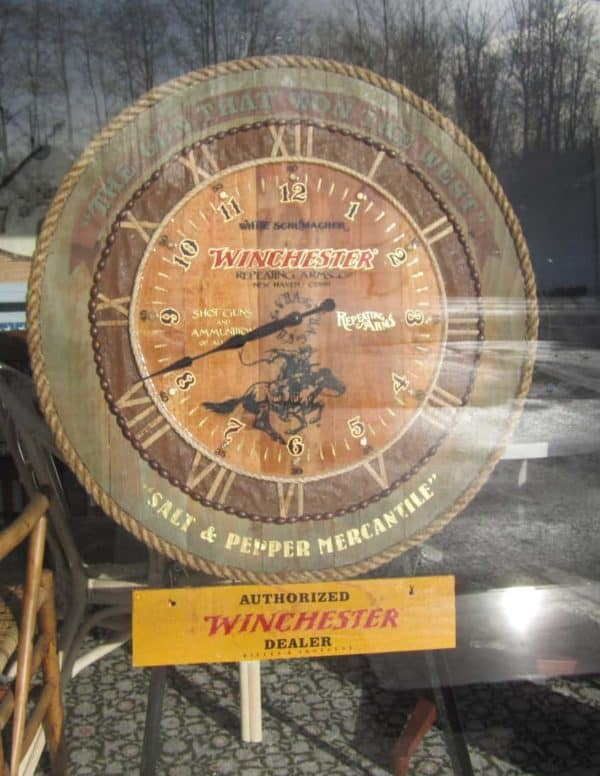 The S&p Winchester Clock Wood & Organic