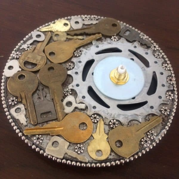 A Second Chance For Old Keys Recycled Art