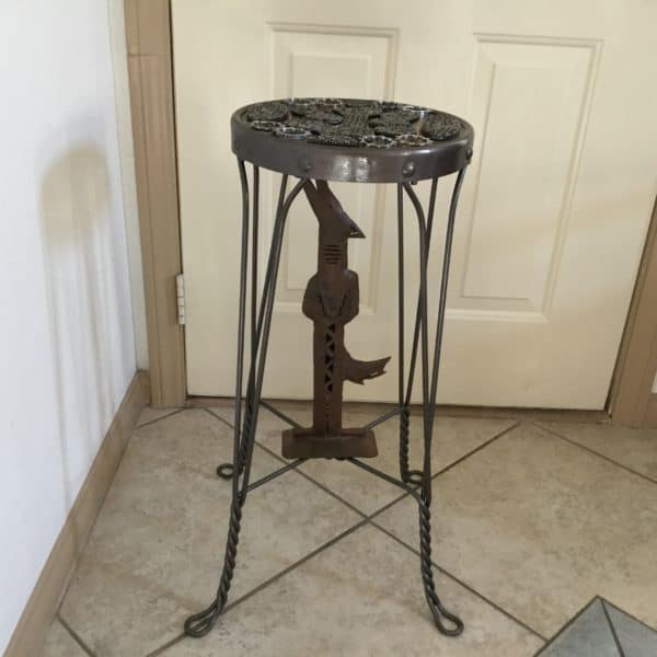 Upcycled Barstool Recycled Furniture Recycling Metal