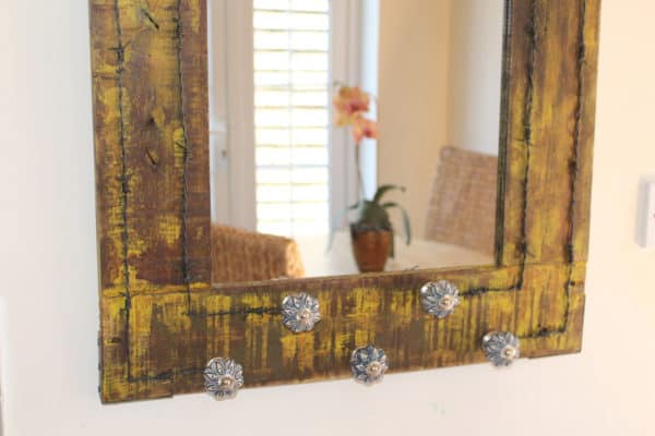 Vintage Drawer Handles & Pallet Wood Into Mirror Home & décor Recycled Pallets