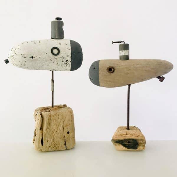 Driftwood Nautical Decor Recycled Art Wood & Organic