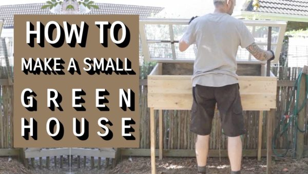 How To Make A Mini Greenhouse From Reclaimed Wood Garden Ideas Wood & Organic