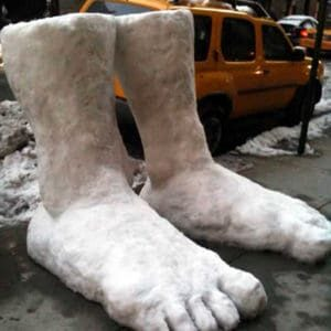 2feets-snow sculpture