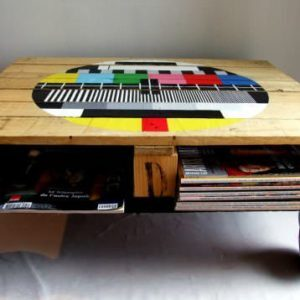 Pallet coffe table recyclart1