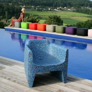 QUI_EST_PAUL_Translation_Armchair_LIMITED_EDITION_RECYCLED_Pool_Setting