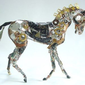 Recycled-Running-Horse-Sculpture-2