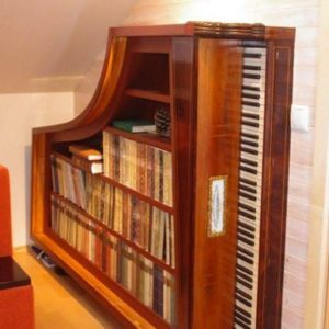 Repurposed-piano-book-case