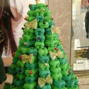 egg-carton-christmas-tree