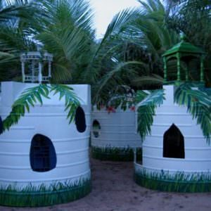 kids house watertanks