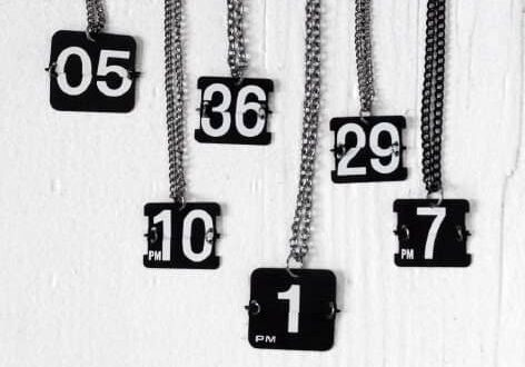 perpetual necklace - custom number.